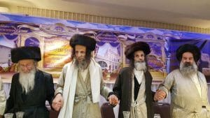 הרב ילון יצחקי, הרב משה צנעני, הרב עופר ארז, הרב יהושע דב רובנשטיין