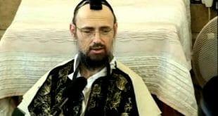 """הגה""""צ המקובל הרב דב קוק שליט""""א מתפלל על הגה""""צ הרב אליעזר ברלנד שליט""""א"""