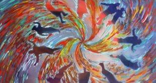 """דברי הגה""""צ הרב אליעזר ברלנד שליט""""א - הציור באדיבות יהושע וייסמן"""
