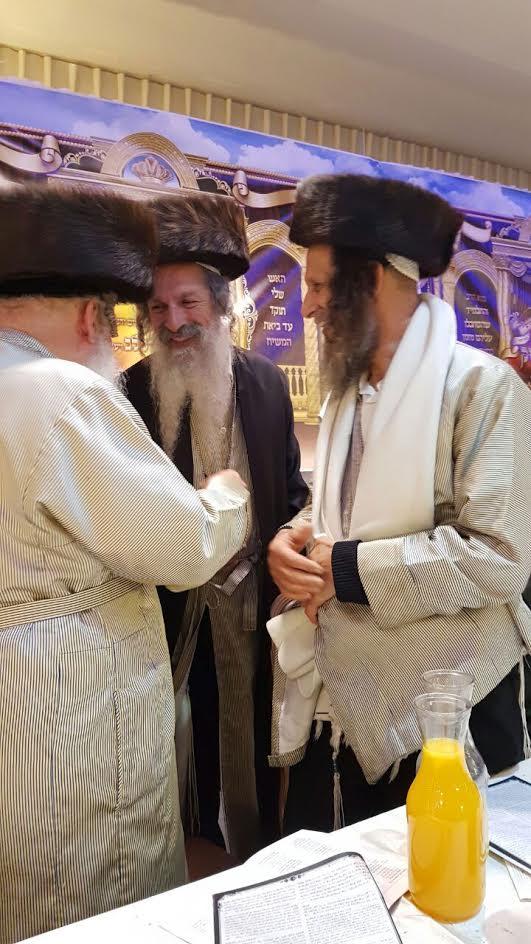 הרב גול עם הרב עופר ארז והרב אליהו מרב