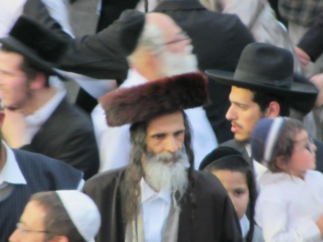 """הרב משה צנעני בהילולה דרשב""""י במירון"""