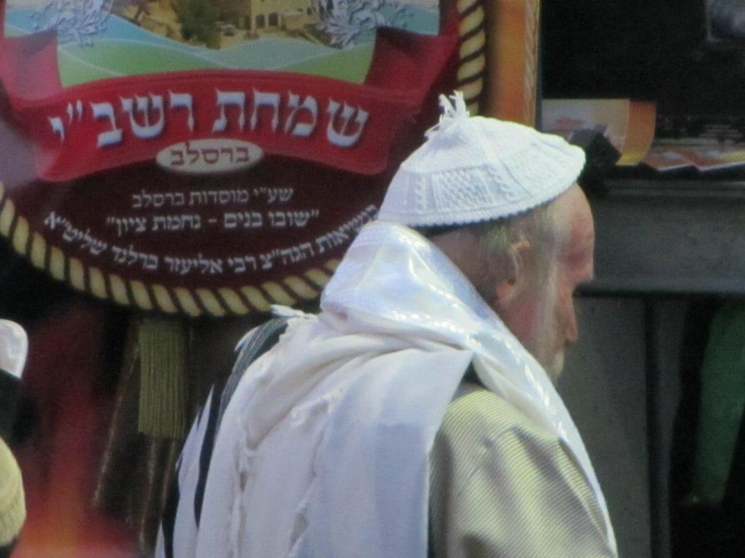 הרב אליהו סוכות באתרא קדישא מירון