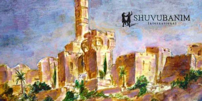 """תפילה לדירה בירושלים מאת הגה""""צ הרב אליעזר ברלנד שליט""""א - הציור באדיבות הציר יהושע וייסמן שיחי'"""