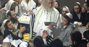 """הגה""""צ הרב אליעזר ברלנד בתפילת חוה""""מ סוכות"""