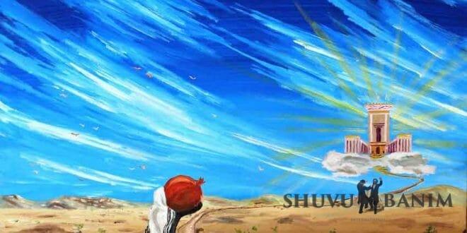 """פרשת ויקהל- פקודי מאת הגה""""צ הרב אליעזר ברלנד שליט""""א - הציור באדיבות יהשוע ויסמן שיחי'"""