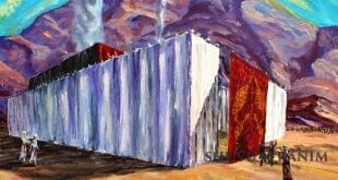 """דברי הגה""""צ הרב אליעזר ברלנד שליט""""א לפרשת צו - הציור באדיבות יהשוע ויסמן שיחי'"""