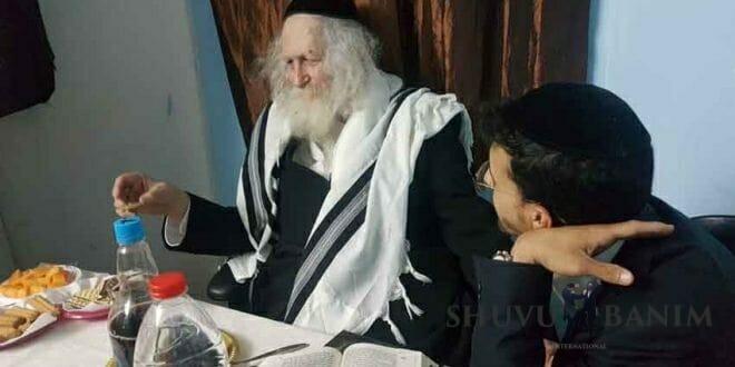 """הגה""""צ הרב אליעזר ברלנד שליט""""א בחוג בית באשדוד"""