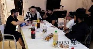 """הגה""""צ הרב אליעזר ברלנד שליט""""א בחוג בית בחולן 4.7.18 בעוד אחד ממסעות הקודש לקירוב עם ישראל"""