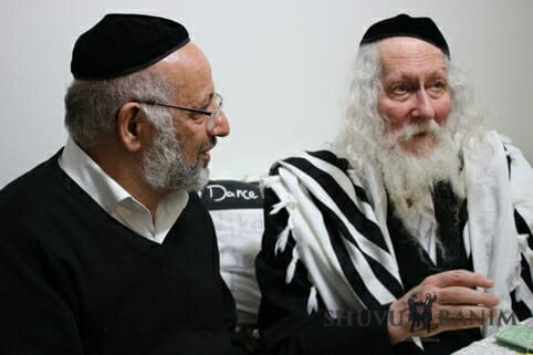 Rabbi Berland in Ashdod