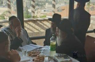 """מורינו כ""""ק הגה""""צ הרב אליעזר ברלנד שליט""""א בחוג בית בירושלים"""