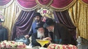 הרב אבא טורצקי עם מורנו הרב אליעזר ברנלד שליטא~1