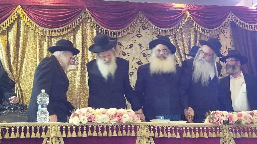 רוקדים בקדושה הרבנים אליהו סוכות אליהו מירב אהרן פרקש שלמה אלמליח~1